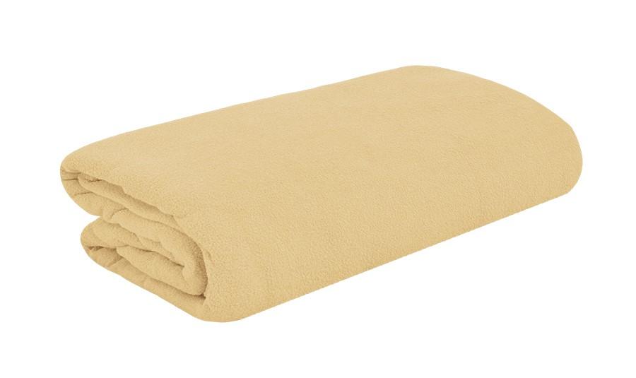 TOP Q Frottee Bettlaken Für eine höhere Matratze geeignet BEIGE 2 90x200 cm