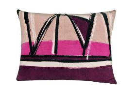 Kissenbezug Mikroplüsch 70x90 cm DENTON violett