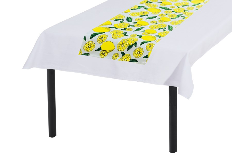 Tischläufer 30x160 cm ZITRONE