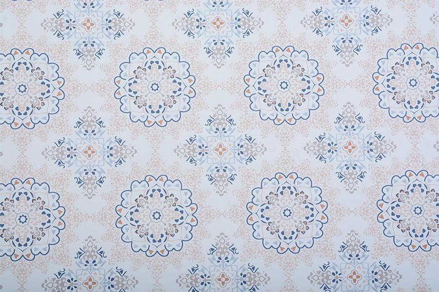 PVC-Tischdecke MANDALA 120x140 cm