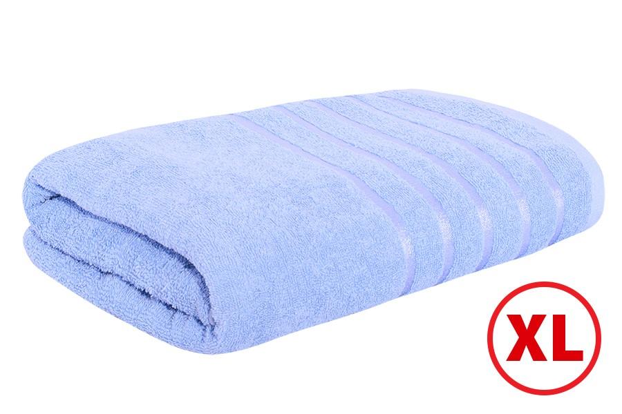 Maxi-Badetuch STRIPA blau