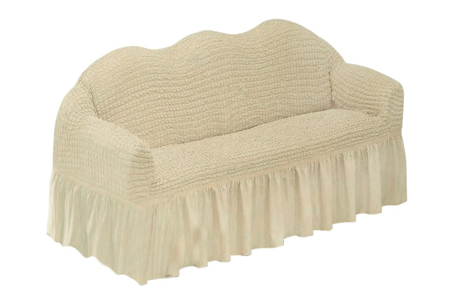 Couch-Spannbezug KORINA Beige