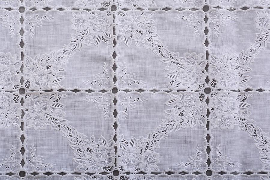 PVC-Spitzentischdecke ALTA 120x140cm