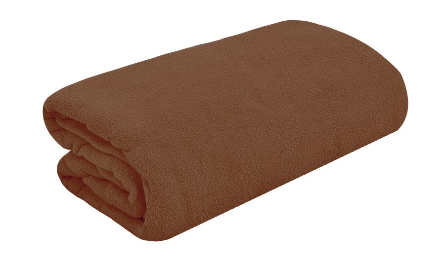 TOP Q Frottee Bettlaken Für eine höhere Matratze geeignet DUNKEL BRAUN 180x200 cm
