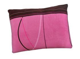 Kissenbezug Mikroplüsch 70x90 cm TULSA violett