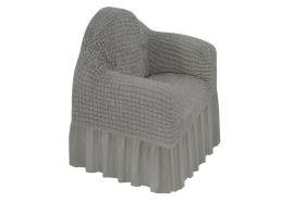 Spannbezug für Sessel KORINA Grau