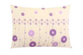 Flanell Kissenbezug 70x90 cm INDORA violett