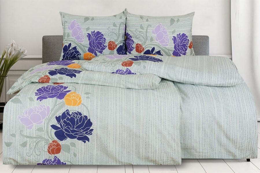 Baumwollbettwäsche AGLIA violett
