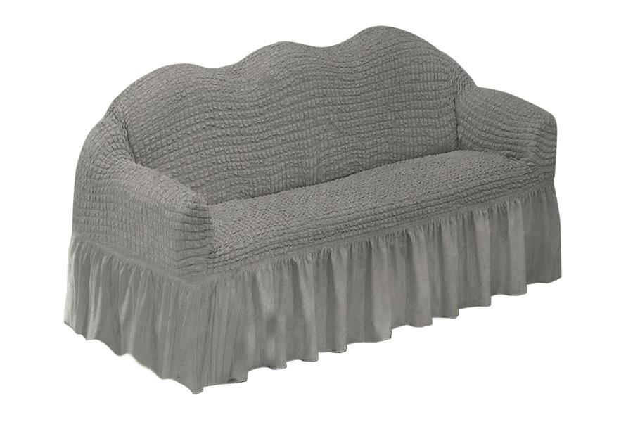 Couch-Spannbezug KORINA Grau